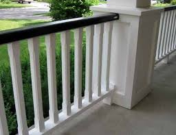 Wooden Patio Railings  Home Design By LarizzaPorch Railing Pictures