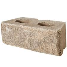 rockwall large 6 in x 17 5 in x 7 in pecan concrete retaining wall block 48 pcs 34 9 face ft pallet
