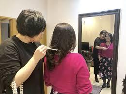 美容業界初姿見を使って理想のヘアスタイルを提案 40歳以上のお客様に