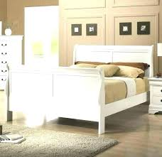 Distressed White Bed Rustic Bedroom Set Queen Distress – borntofit.club