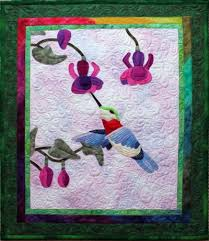 The Hummingbird from Linda M. Poole: Quilt Artist, Designer ... & The Hummingbird Adamdwight.com
