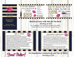 3x5 business cards digital images lipsense business card and application and trick