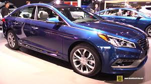 hyundai sonata 2015 exterior. 2015 hyundai sonata 20t limited exterior and interior walkaround detroit auto show youtube t