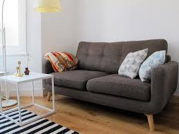 John Lewis Living Room Furniture John Lewis Barbican Sofa Medium Fabric Cossette Bark Legs