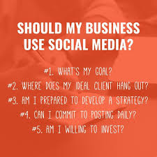 Questions To Ask Business Owners Should My Business Use Social Media 5 Questions To Ask