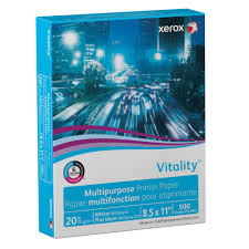 Xerox Vitality Multipurpose Printer Paper 20 Lb 8 X 11