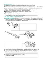 Evidence of evolution worksheet 2 assignment optional likeness 1 ...