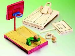 Wooden Basketball Game Economy Handicrafts Wooden Desktop Basketball Game 47