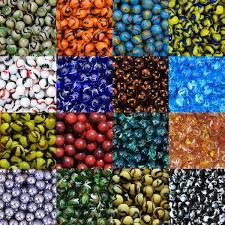 toy glass marbles