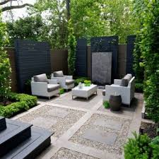 Modern Backyard Patio With Great Privacy Screening | Backyard Garden |  Pinterest | Modern backyard, Backyard patio and Backyard
