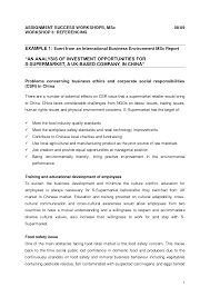 Business Report Layout Example Best Photos Of Business Report Writing Examples Business Report 9