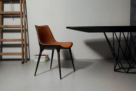 leather dining chairs modern. Medium Size Of All Modern Leather Dining Chairs Baxton Studio Montclare Brown