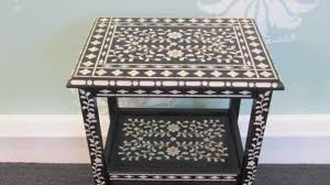 painting designs on furniture. How To Inlay Furniture With Benjamin Moore Paint By Using A Stencil - YouTube Painting Designs On E