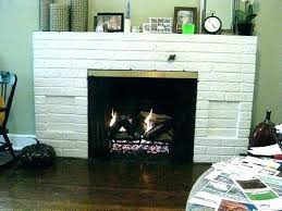 gas fireplace conversion converting gas fireplace to wood burning