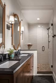 transitional bathroom renovation in atlanta
