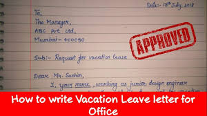 How To Write Leave Letter Application How To Write Leave Letter To