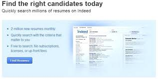search resumes on monster indeed for employers is for employers to post a  job application and
