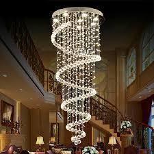 image of elegant foyer crystal chandeliers