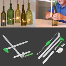 diy glass wine bottle cutter cutting machine jar kit machine recycle tool zhn