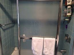 open the shower curtain at both ends for better air flow and a cleaner shower