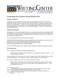 Chicago Citation And Document Citation Publishing