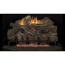 superior fireplaces lbg36sm bge2436 smokey mountain 36 ceramic fiber vent free gas log set