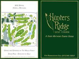 Hunters Ridge Golf Course in Howell, Michigan   GolfCourseRanking.com