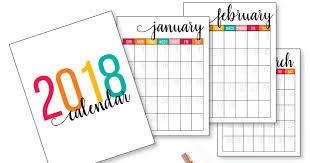 printable calanders 2018 printable calendar