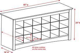 prepac ashley shoe storage bench white. Product. Prepac Shoe Storage Cubbie Bench In White Ashley
