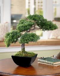 office bonsai tree. Cypress Bonsai Artificial Tree GREEN Office O