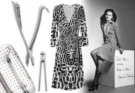 Image result for dvf classic jersey wrap dress
