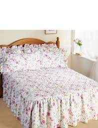 Collette Quilted Fitted Bedspread - Home Bedroom & COLLETTE QUILTED FITTED BEDSPREAD Adamdwight.com