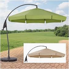 patio umbrella replacement canopy rectangular home decoration