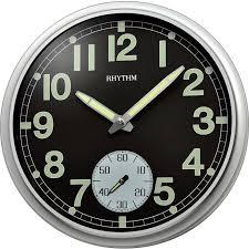 Кварцевые <b>настенные часы Rhythm CMG774BR19</b> купить в ...