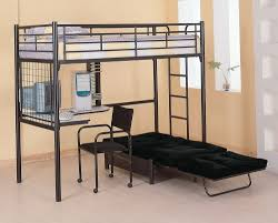 Bunk Bed With Couch And Desk Bunk Beds With Sofa And Desk Home Design Ideas