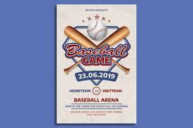 Free Baseball Flyer Template Baseball Game Flyer Template