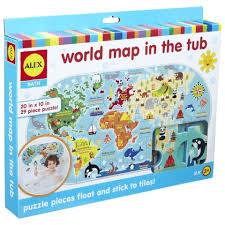 puzzle floor mats canada alex toys bath world map in the tub foam puzzle 30 piece puzzle piece flooring