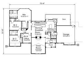 Atrium ranch house plans home design ideas