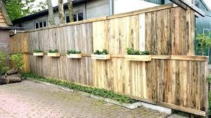 wooden pallet fence pallet fence ideas wood pallet fence planter boxes garden pallet fence ideas pallet
