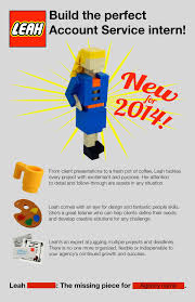 how a student used lego to build the ultimate resume looking