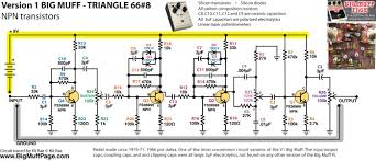 big muff pi versions and schematics 1N4148 SMD at 1n4148 Wiring Diagram