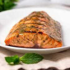 citrus serrano brine recipe honey mustard grilled salmon
