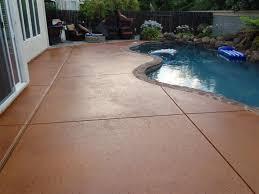 elegant concrete patio stain how to apply multi color concrete stain patio design ideas
