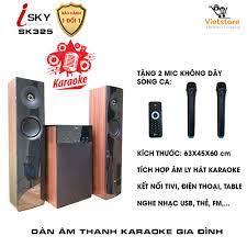 Bán Dàn karaoke gia đình - Dàn âm thanh khủng kết nối Tivi , iphone, ipad,  smartphone Hát karaoke - loa vi tính cỡ lớn âm thanh Hifi siêu Bass có kết