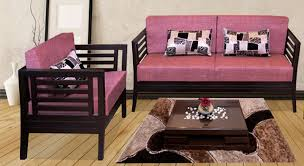 wooden sofa set designs. Get Modern Complete Home Interior With 20 Years Durability..Teak Wood Sofa Set Rose Wooden Designs