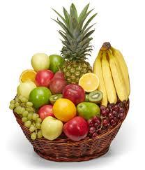 fruit basket. Wonderful Fruit Christmas Fruit Basket And U
