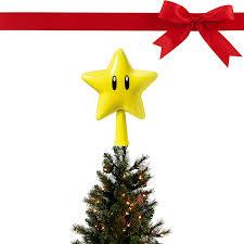 Led Light Up Christmas Tree Amazon Com Mario Super Star Light Up Christmas Tree Topper