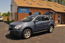 2011 Chevrolet Equinox LT Blue Used SUV Sale