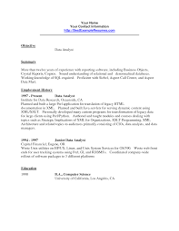 Gis Analyst Sample Resume Ultimate Gis Analyst Resume Templates On Junior Business Sample Cosy 8