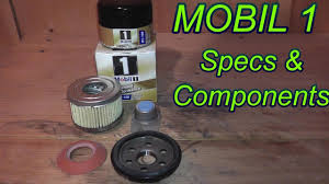 Mobil 1 Oil Filter Chart Mobil 1 Oil Filter Review